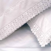 Baby Cot Duvet Cover Sets with Classic Lace