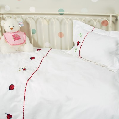 Baby Duvet Cover Sets - Ladybugs
