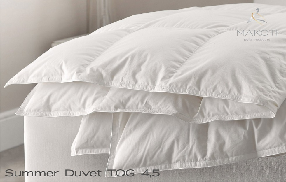 Summer Duvets Tog 4.5 - Makoti Down Products